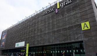 Eingangsbereich zur Grazer Messe