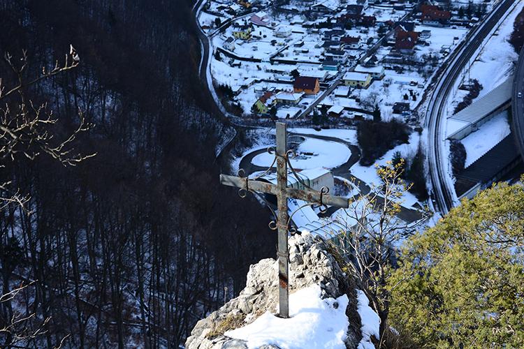 Blick vom Jungfernsprung Richtung Raach
