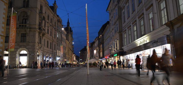 Die lange Einkaufsnacht in Graz - donnerstags vor'm Aufsteirern